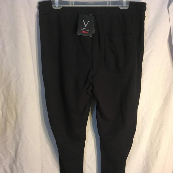 Verde Other - Verde Men's jogger pants front zippered pockets XL